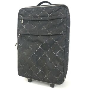 Auth Chanel Trolley Travel Line Rolllng #1122C25